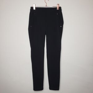 RLX RALPH LAUREN Black skinny stretch pants size 6